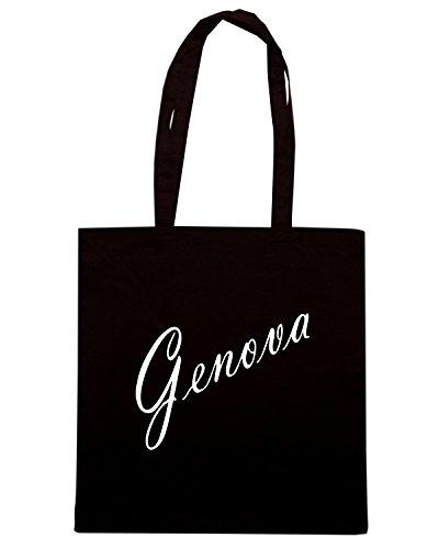 T-Shirtshock - Bolsa para la compra TSTEM0171 genova products Negro