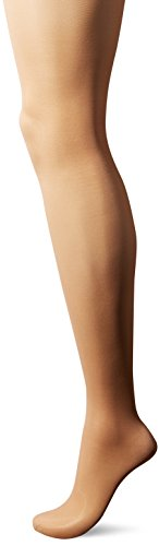 L'eggs Women's Sheer Energy Control Top Toe Pantyhose, Nude, Q+