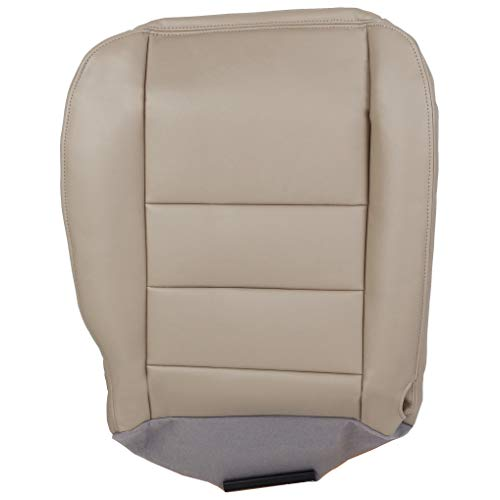 ECOTRIC Driver Bottom Seat Cover for 2002 2003 2004 2005 2006 2007 Ford F250 F-350 Super Duty Lariat Replacement Cushion Cover
