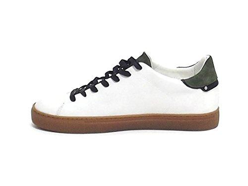 Crime 11207KS1 Sneakers Uomo Bianco Barato Muy Barato syX2sunI5b