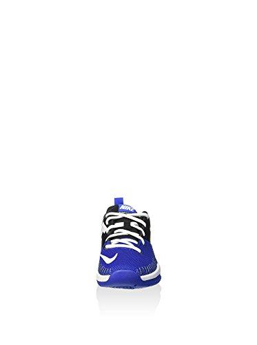 Nike Team Hustle D 7 Low (Gs), Zapatillas Para Niños Azul (Black / White Game Royal)