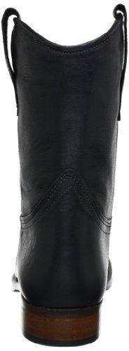 HIP D1887 Black Leather - Botines de cuero mujer negro - negro
