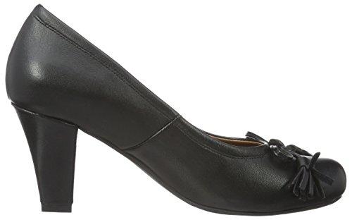 3000513 schwarz Hirschkogel Fermé Bout Noir Escarpins 002 002 Femme Bn4q6w74