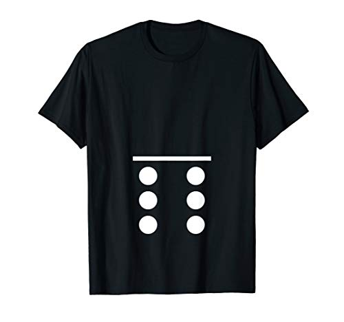 Costume Ideas For A Group Of 6 - Funny Domino 0-6 Halloween Costume Dominoes