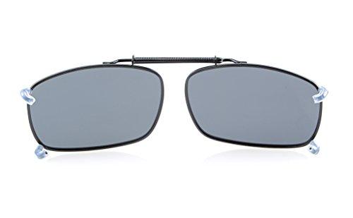 neuf Protection Polarisation UV metallique Soleil pince gris Eyekepper Lunettes de wqzITaxv