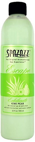 - Spazazz SPZ-123 Escape Aromatherapy Elixir Bottle, 12-Ounce, Kiwi Pear