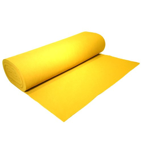 Acrylic Felt by the Yard 72'' Wide X 2 YD Long: Neon Yellow by The Felt Store