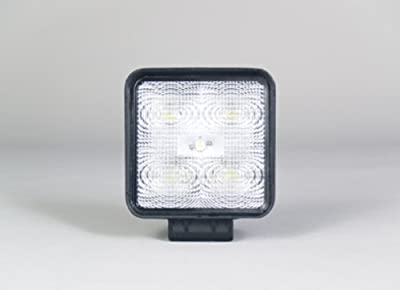 "Sound Off Signal EWLF0500SBDF0W White 4.3"" 500-Lumen Square LED Work Light with Flood Illumination Pattern"