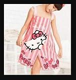 Hello Kitty Spa Towel Kids Children Pink