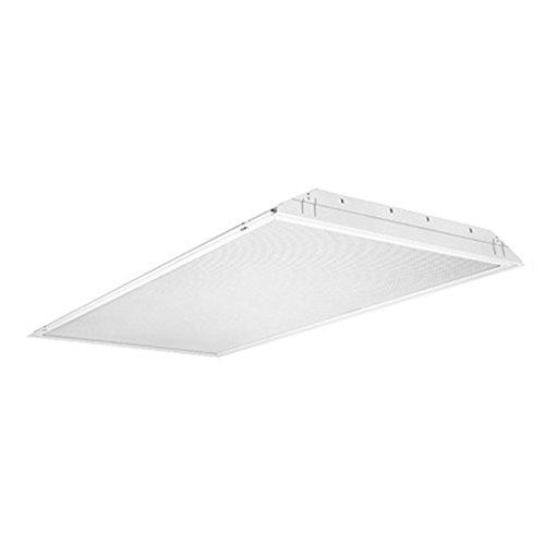 Lithonia Lighting GT8 2 32 A12 MVOLT GEB10IS 2-Light White Fluorescent General Purpose Troffer, 4-Feet