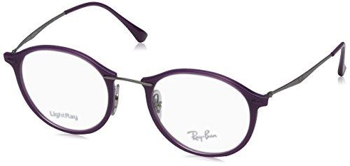 Violet ban Ray 0rx7073 Unisex 49mm Shiny 8xqrwdqXY