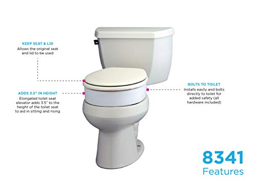 Best Toilet Seat Risers For The Elderly And Disabled