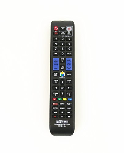 Gvirtue GSM-22+AL Universal Remote Control for Almost All Samsung Brand LCD LED HD Smart TV, AA59-00666A BN59-01178W BN59-01199F AA59-00638A AA59-00637A AA59-00594A AA59-00600A AA59-00582A