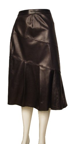 Paccilo Women 3010 PETITE Fashion Leather Skirt