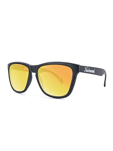 Knockaround Classics Polarized Sunglasses, Matte Black/Sunset
