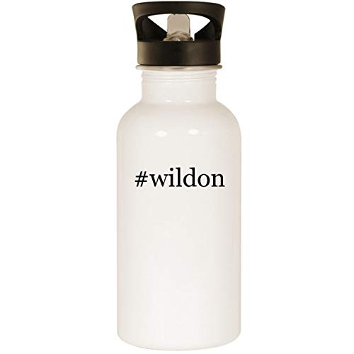 #wildon - Stainless Steel 20oz Road Ready Water Bottle, White
