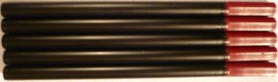 888 Rollerball Refills Black Ink Medium Point 5 Pack