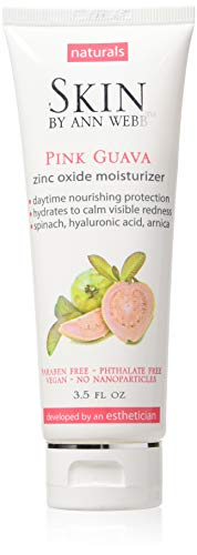 (Skin by Ann Webb Zinc Oxide Day Cream, Pink Guava, 3.5 Fluid Ounce)