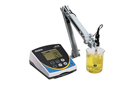 (Oakton WD-35419-20 Oakton Ion 700 Benchtop Meter with DJ Refillable Glass pH Electrode, ATC Probe, Stand)