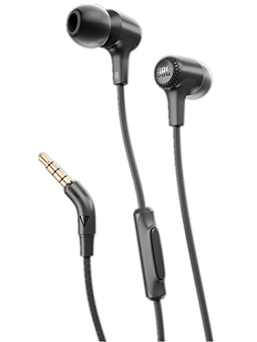 JBL E15 In-Ear Headphones with One-Button Remote and Mic
