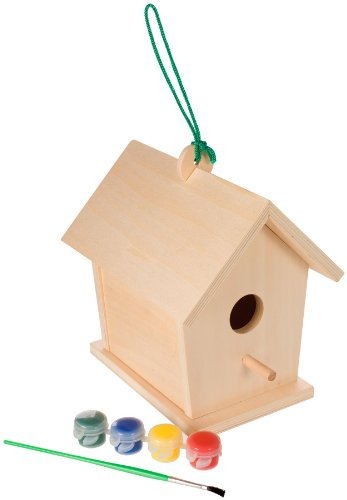 Toysmith 2957 Build Paint Birdhouse