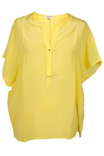 gigue 100% Seda Blusa De Mujer hindie LIMA Camiseta Túnica