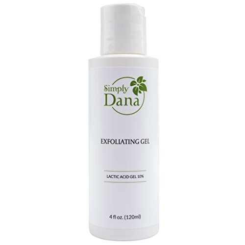(Simply Dana Exfoliating Gel - Pore-Cleansing Exfoliation with 10% Lactic Acid Gel 4 fl oz.)