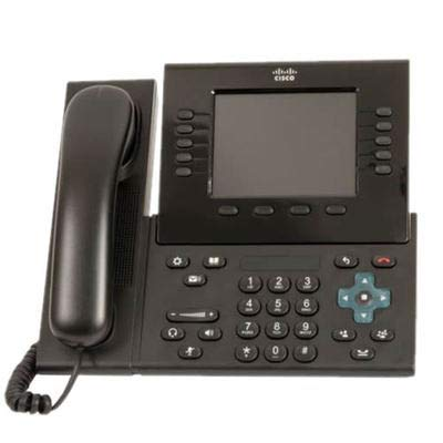 Cisco CP-8961-C-K9-RF Unified IP Phone 8961 Standard - VoIP phone - SIP - charcoal ()