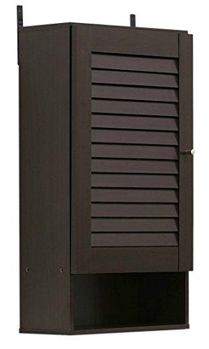 Wood Medicine Cabinet , Bathroom - Single Door, Espresso