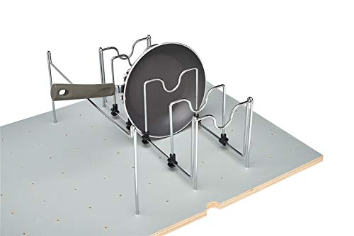 Rev-A-Shelf - 5DCD-1-CR - Drop-in Pan Organizer for Drawer Peg Board System