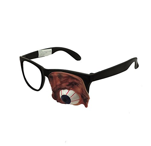 Prosthetic Eyeball Zombie Undead Costume (The Walking Dead Zombie Adult Costumes)