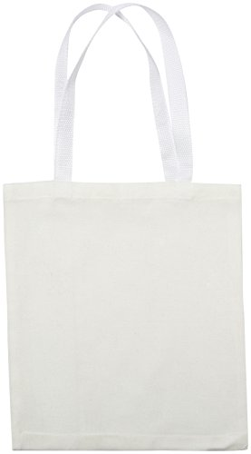 Rhode Island Novelty JATOTLG Cotton Craft Tote Bag, 12 Pack