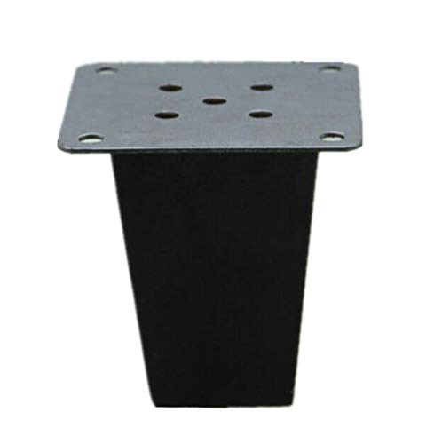 Furniture legs, Oak Square Black Solid Wood Sofa Legs, Wooden Foot cabinets Table Legs Coffee Table Legs