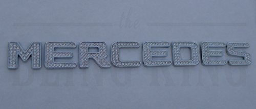 Mercedes Benz Chrome Swarovski Crystal Emblem (Iced Out Emz Emblems)