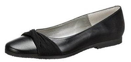 Charisma Ballet Flats Leather Black Black gk515
