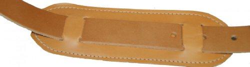 Freiherr von Maltzahn - Bolso de asas de cuero para hombre marrón Naturbraun 3 cm