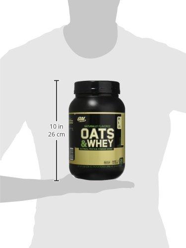 Optimum Nutrition Natural Oats&Whey Bebida de Avena y proteína Whey en Polvo de Sabor Vainilla - 1363 g: Amazon.es: Salud y cuidado personal
