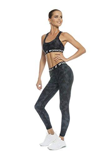 NESSFIT® - Medias deportivas - para mujer BLACK TRIANGLES