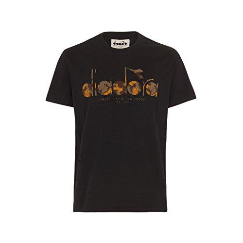 shirt Bl Ss Nero Uomo Diadora T Per aqgU5E1x