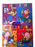 20 Mini A6 Colouring Books Party Bag Filler PTY