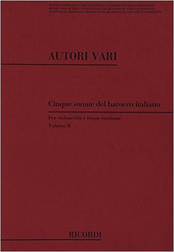 5 Sonate Del Barocco Italiano pdf