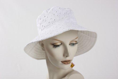 Betmar Mimosa Cloche White/White