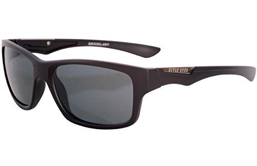Style Eyes Optics Tropics Smoke sunglasses, Matte Black, One - Black Eye Styles