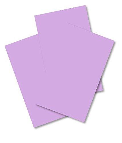 HCP, formato A4, 210 x 297 mm, 80 g/mq, liscia Calendared carta, colore: lilla, confezione da 100 fogli HOUSE OF CARD & PAPER HCP193