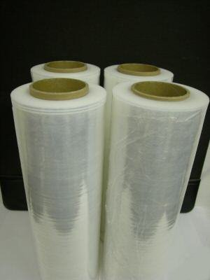 Stretch Film Hand Roll (4 Rolls Hand Stretch Plastic Film Shrink Pallet Wrap 18
