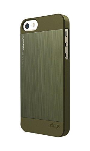 2e6f7dea1f2 elago S5 Outfit MATRIX Aluminum and Polycarbonate Dual Case for the iPhone 5 /5S +