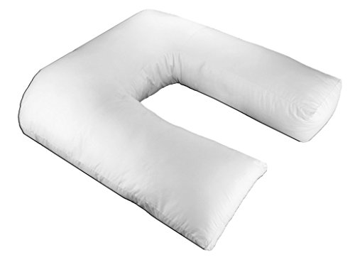 Pure Comfort Bed Pillow - Premium Polyester Fiber Side Sleeper Positional Pillow Cotton Covered Half Body Pillow