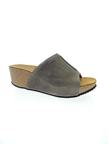 GRUNLAND - Sandalias de vestir para mujer gris