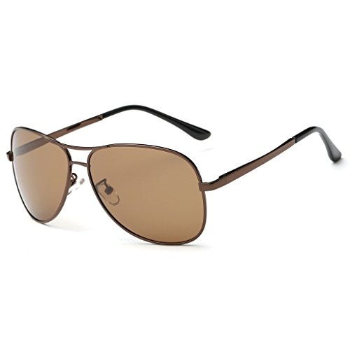 Simvey Vintage Classic Polarized Driving Aviator Sunglasses for Men & Women Metal Frame - Aviator Sunglasses Meaning