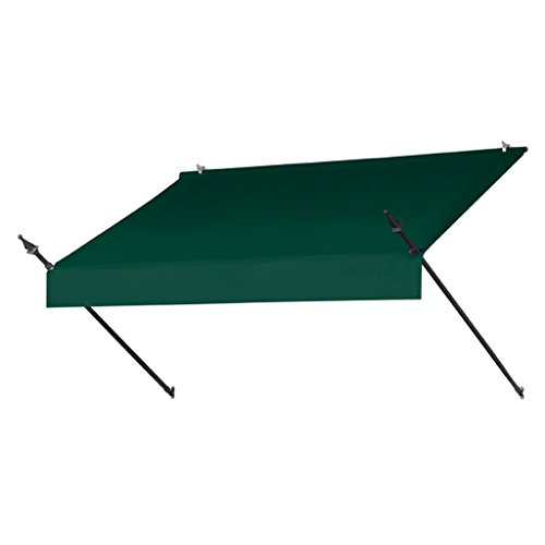 Sunsational Products Replacement Cover for Designer Window Awning - Forest Green - Size: 8' 3020862